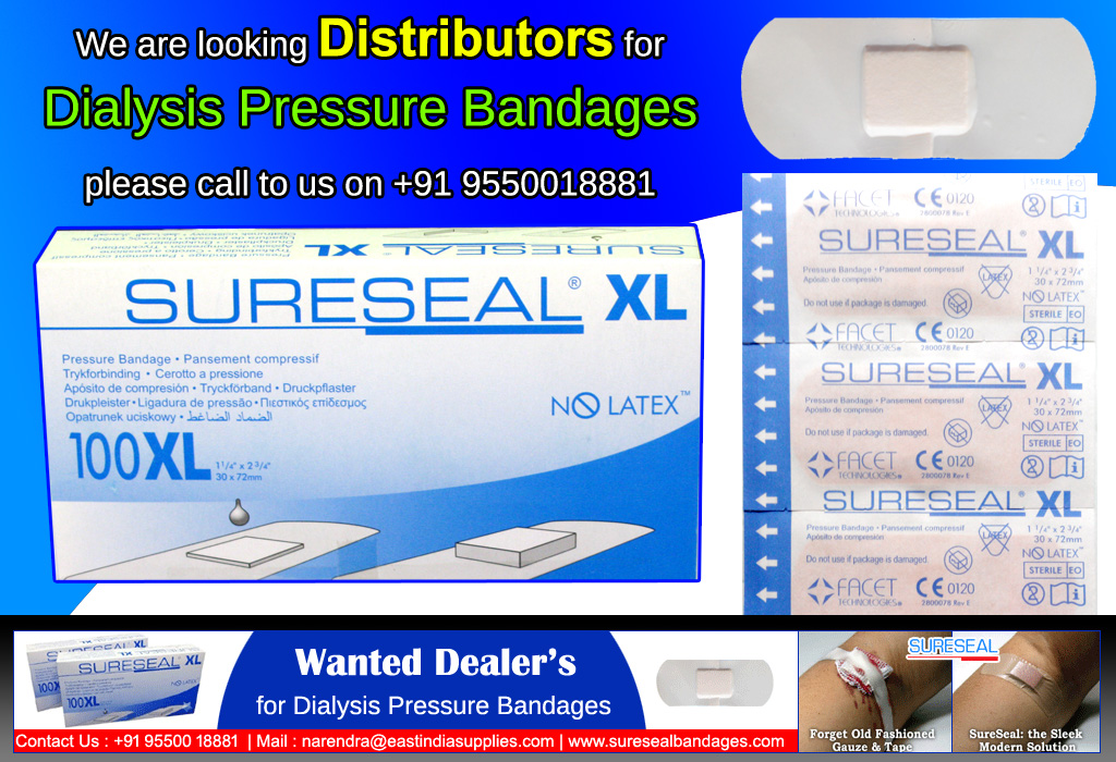 distributor for sureseal bandages